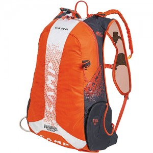 Zaino Rapid Racing Arancio/ Bianco