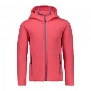 CMP Girl Jacket Fix Hood colore Granita