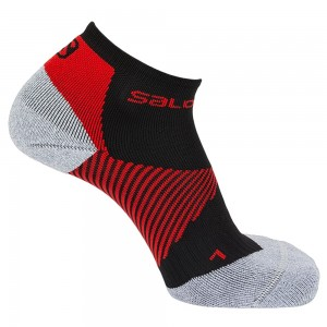 Calza Salomon Speed Support Nera