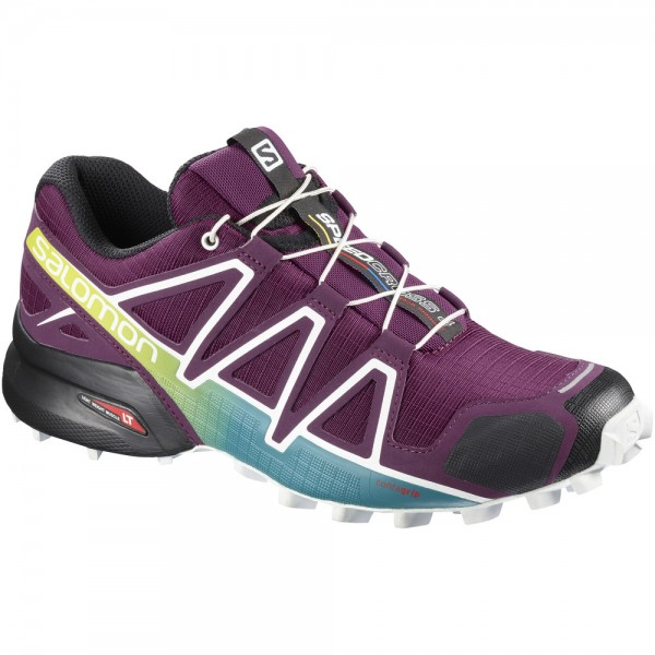 Scarpa Salomon Speedcross 4 W Porpora