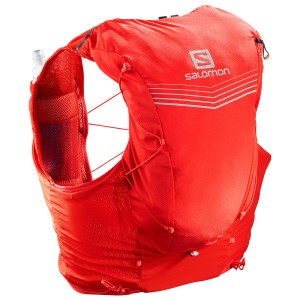 Salomon Zaino ADV SKIN 12 Set  Red