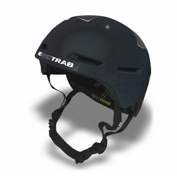 SkiTrab Casco Gara Black