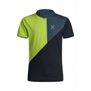 Montura Vertical Block Zip T-Shirt Uomo