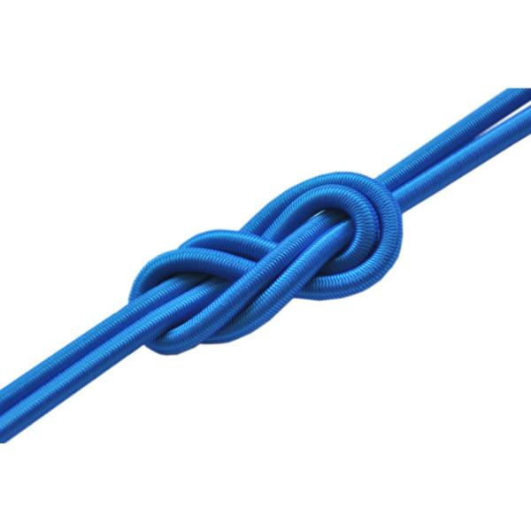 Elastico per pelli di Foca di alta qualità diametro 4 mm  venduto a metro Azzurro